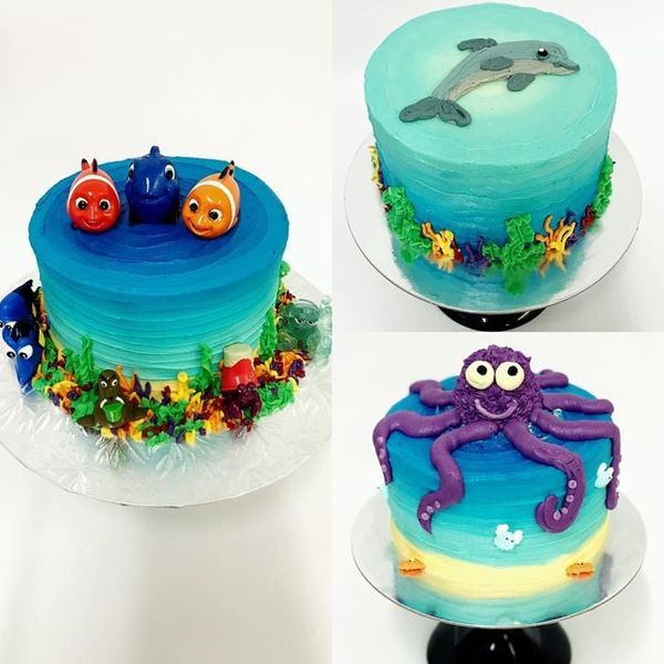 Sea Themed Cakes