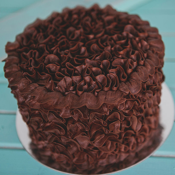 Chocolate Squiggle Cake