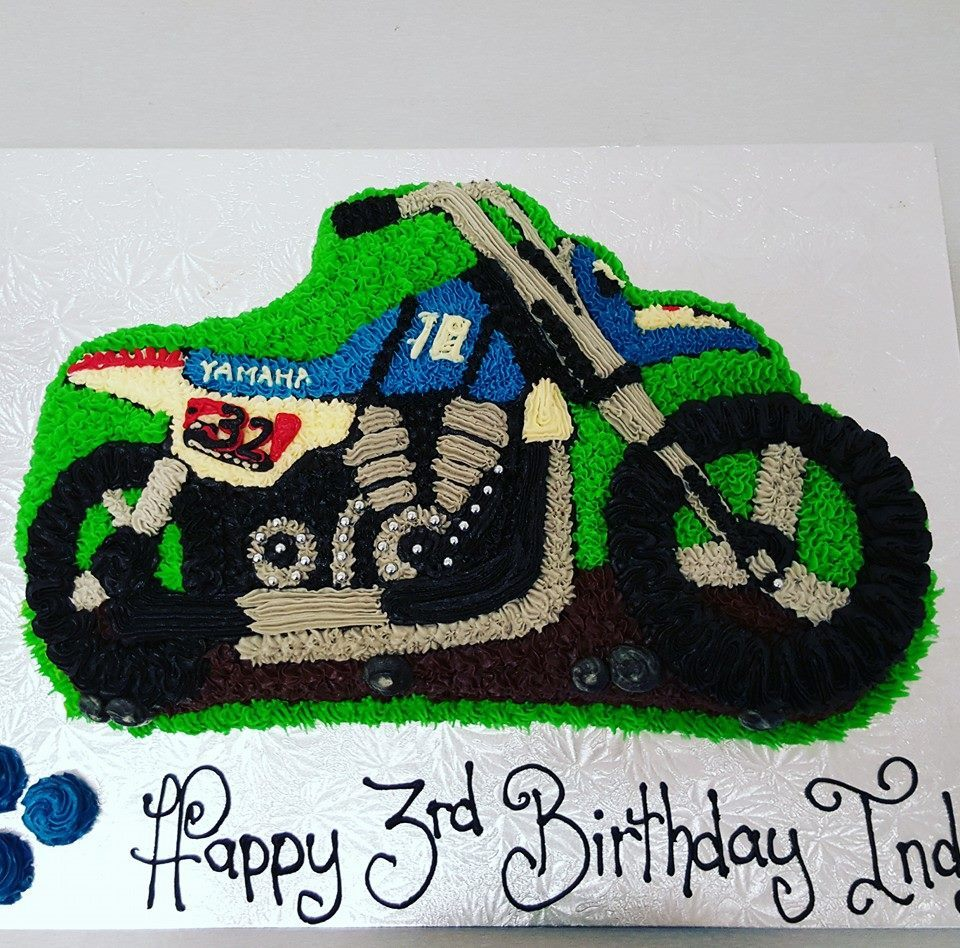 Motorcycle Cake The Girl on the Swing