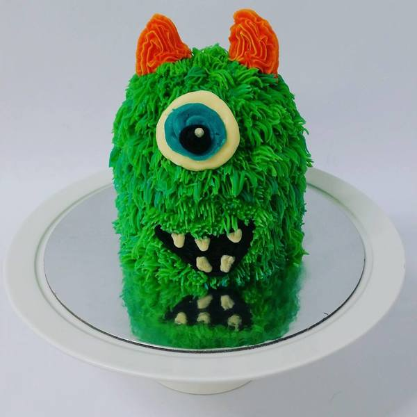 Little Green Monster Cake