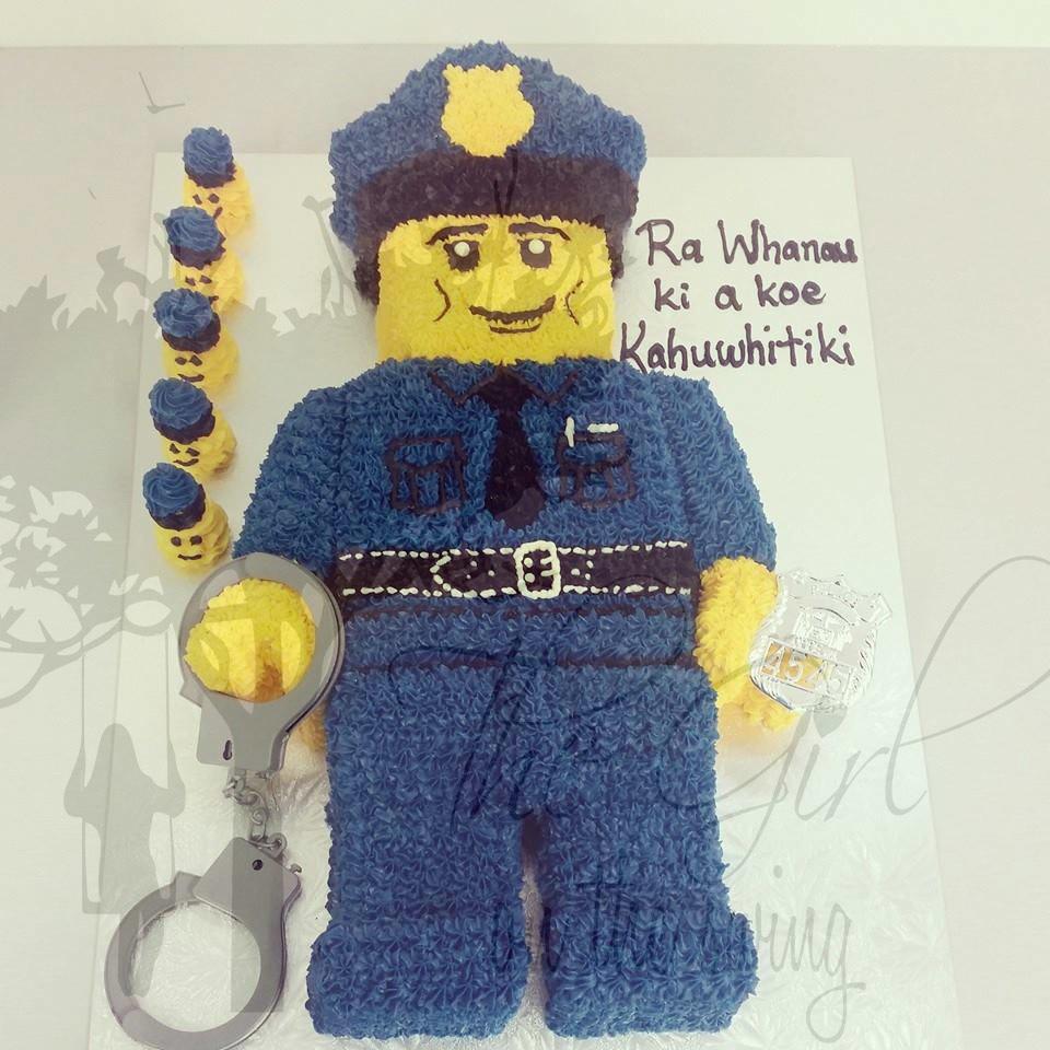 Lego Policeman Cake The Girl On The Swing