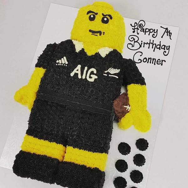 All Blacks Lego Man