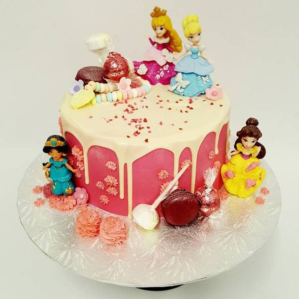 Disney Princess Drip Cake