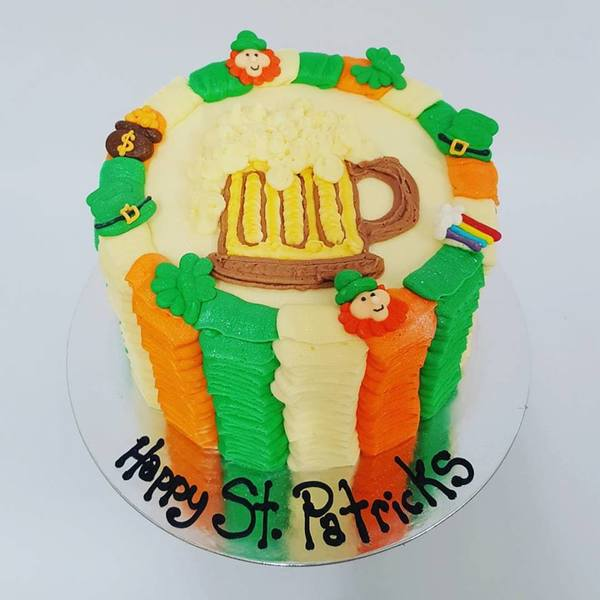 St Patricks Themed Cake