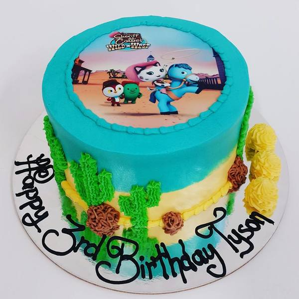 Sheriff Callie Wild West Cake (with edible image)