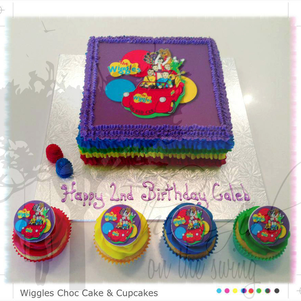 The Wiggles (with edible image)