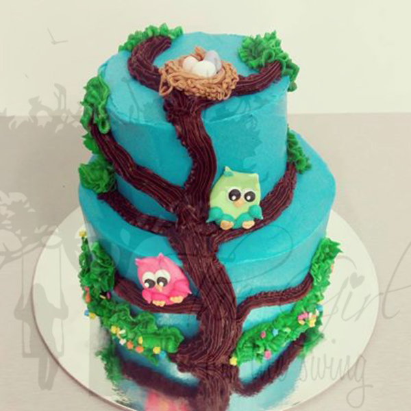 Two Tier Owls on a Tree