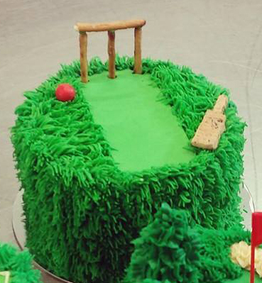 Cricket Cake The Girl On The Swing