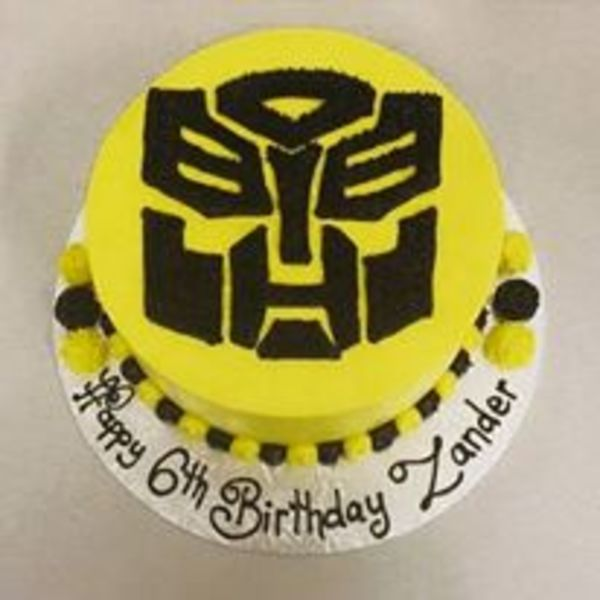 Smooth Yellow with Transformers Logo