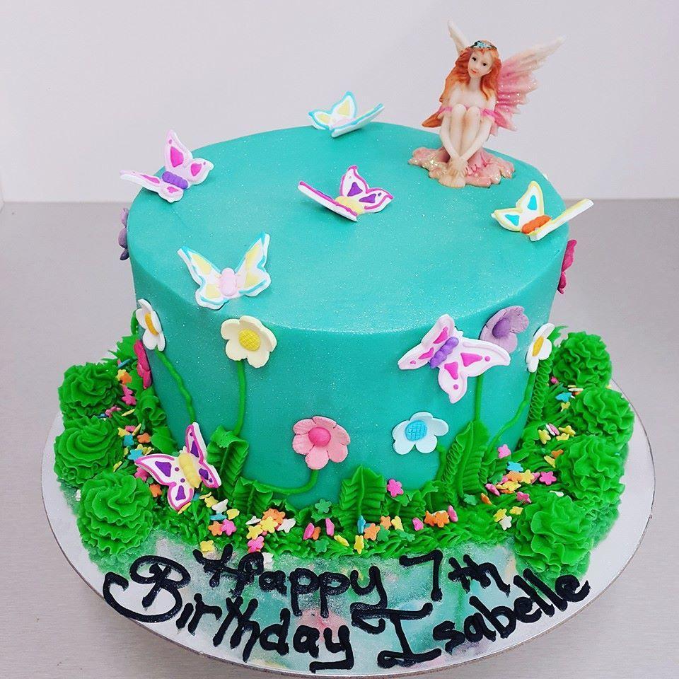 Fairy Garden Cake The Girl On The Swing