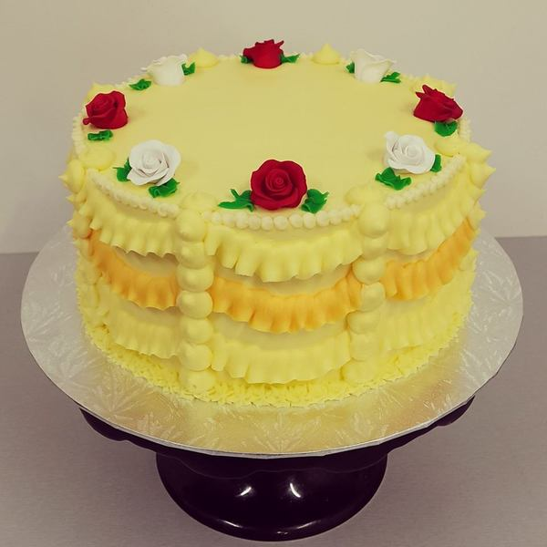 Princess Belle Cake