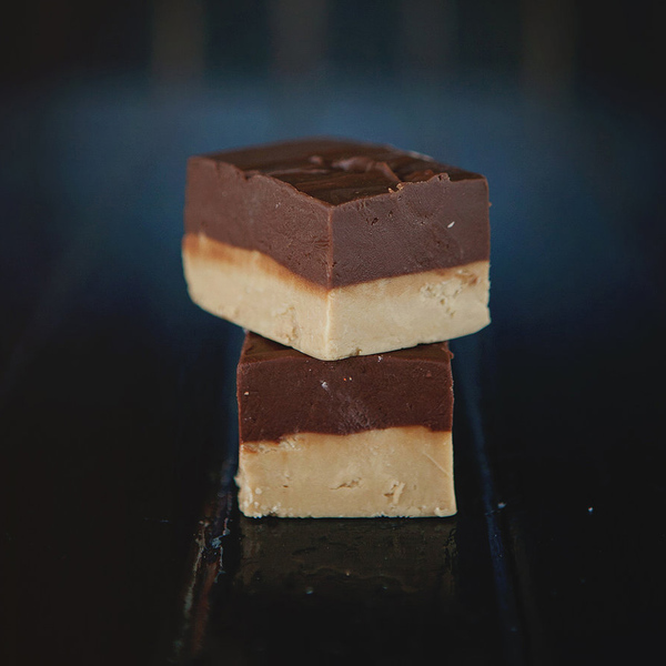 Chocolate Caramel Fudge 100g