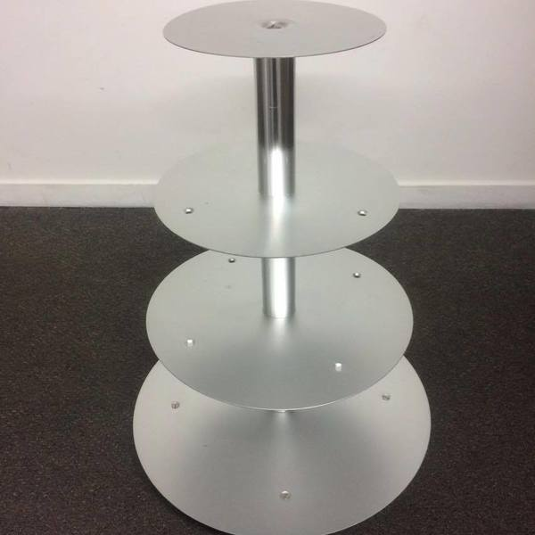Round Metal Cupcake Stand