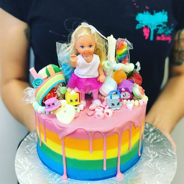 Rainbow lolly and Doll Overload