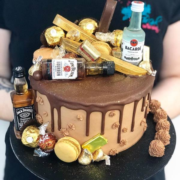 Chocolate and Alcohol Overload