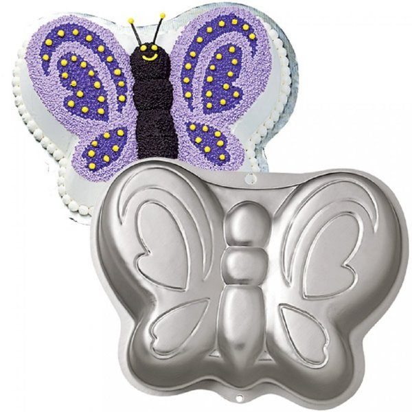 Butterfly Wilton Tin