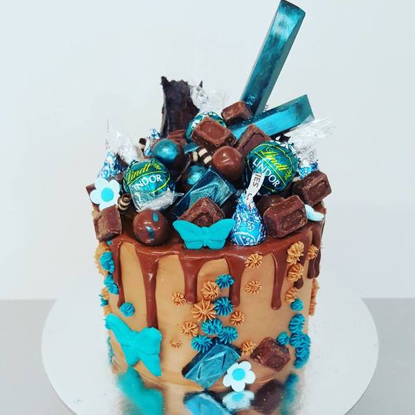 Teal and Chocolate Overload