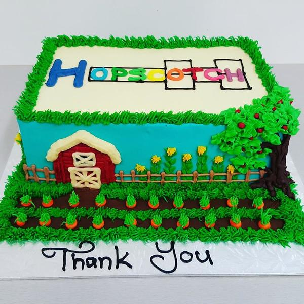 Preschool Leavers Farm Cake
